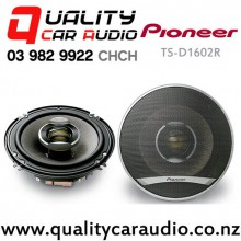 "Pioneer TS-D1602R 6.5"" 260W (60W RMS) 2 Ways Coaxial Car Speakers (Pair) with Easy LayBy"