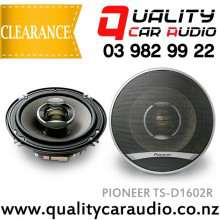 "Pioneer TS-D1602R 6.5"" (16.5cm) 260W 2 Ways Coaxial Car Speakers (Pair) with Easy Layby"