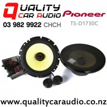 """Pioneer TS-D1730C 6.75"""" 260W 2 Ways Car Component Speakers (pair) with Easy Layby"""