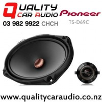 """Pioneer TS-D69C 6x9"""" 330W (110W RMS) 2 Way Component Car Speakers (pair) with Easy Finance"""