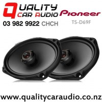 """Pioneer TS-D69F 6x9"""" 330W (110W RMS) 2 Way Coaxial Car Speakers (pair) with Easy Finance"""
