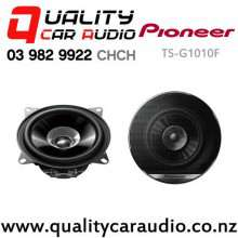 "Pioneer TS-G1010F 4"" 190W (30W RMS) 2 Way Coaxial Car Speakers (pair) with Easy Finance"