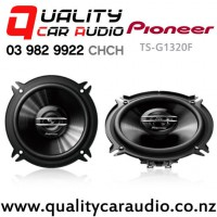 """Pioneer TS-G1320F 5.25"""" 250W (35W RMS) 2 Way Coaxial Car Speakers (pair) with Easy Finance"""