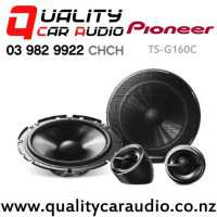 """Pioneer TS-G160C 6.5"""" 300W (45W RMS) 2 Way Component Car Speakers (pair) with Easy Payments"""