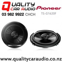 "Pioneer TS-G1620F 6.5"" 300W (40W RMS) Coaxial Car Speakers (pair) with Easy Finance"