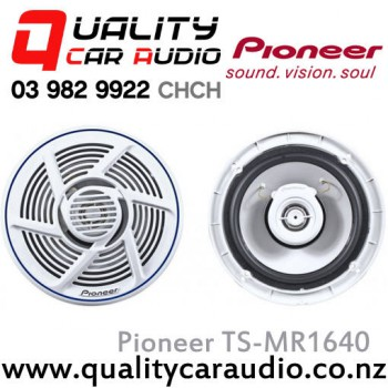 "Pioneer TS-MR1640 100W 6"" (16cm) 2 Ways Coaxial Marine Speakers (Pair) with Easy Layby"