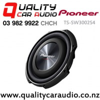 """Pioneer TS-SW3002S4 12"""" 1500W (400W RMS) Single 4 ohm Voice Coil Slim Car Subwoofer with Easy Finance"""
