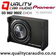 "Pioneer TS-SWX2502 10"" 1200W (300W RMS) 4 Ohm Voice Coil Sealed Subwoofer Enclosure with Easy Finance"