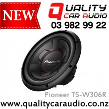 "Pioneer TS-W306R 12"" (30cm) 1300W (350W RMS) Single Voice Coil Car Subwoofer with Easy LayBy"