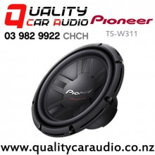 "Pioneer TS-W311 12"" 1000W (300W RMS) 4 ohm Single Voice Coil Car Subwoofer with Easy Layby"