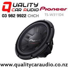 "Pioneer TS-W311D4 12"" (30cm) 1400W (400W RMS) Dual Voice Coil Subwoofer with Easy Finance"