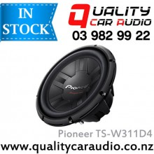 "Pioneer TS-W311D4 12"" (30cm) 1400W (400W RMS) Dual Voice Coil Subwoofer with Easy LayBy"