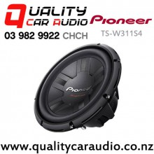 "Pioneer TS-W311S4 12"" 1400W (400W RMS) Single 4 Ohm Voice Coil Car Subwoofer with Easy Layby"