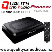 Pioneer TS-WX120A 150W Car Under Seat Active Subwoofer Incl Wiring kits & Bass Remote with Easy Finance