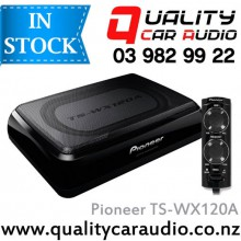 Pioneer TS-WX120A 150W Car Under Seat Active Subwoofer Incl Wiring kits & Bass Remote with Easy Layby