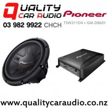 Pioneer TSW311D4 + GM-8601D Package - Easy LayBy