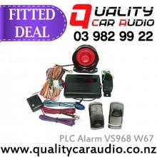 PLC Alarm VS968 W67 Car Alarm - Fitted Deal