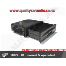 PO-TRAY1 Universal Pocket with Tray - Easy LayBy