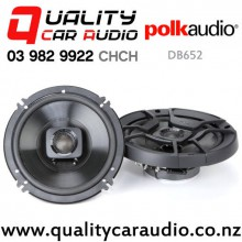 """Polk DB652 6.5"""" 300W (100W RMS) 2 Way Coaxial Speakers (pair) with Easy Finance"""