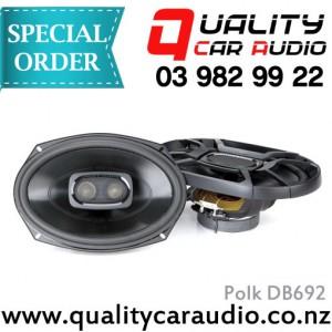 """Polk DB692 6x9"""" 450W 3 Ways Coaxial Speakers - Easy Layby"""