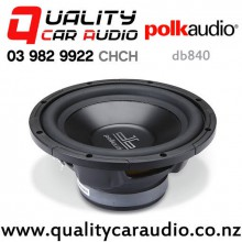 "Polk db840 8"" 360W (180W RMS) Single 4 ohm Voice Coil Car Subwoofer with Easy Finance"