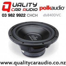 "Polk db840 DVC 8"" 360W (180W RMS) Dual 4 ohm Voice Coil Car Subwoofer with Easy Finance"