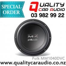 Polk MM1040DVC 10 inch dual voice coil SUB - Easy LayBy