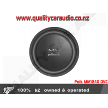 "Polk MM1240 12"" (30cm) 850W DUAL VOICE COIL SUBWOOFER with Easy LayBy"