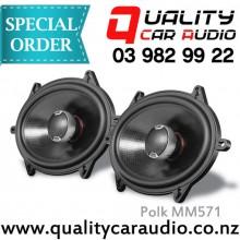 Polk MM571 5x7 inch coaxial mobile audio loudspeak - Easy LayBy