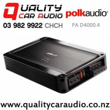 Polk PA D4000.4 400W 4/3/2 Channels Class D Car Amplifier with Easy Finance