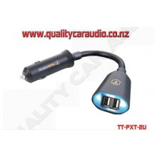 TT-PXT-2U Though Tested Power Extension Dual USB Charger 3.4 Amp - Easy LayBy