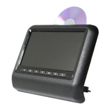 "Mongoose 'Q500 'Clip-on' 9"" DVD Headrest Player"