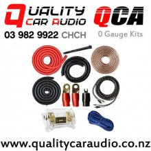 QCA 0 GAUGE 5000W Max Power Complete Set Car Amplifier Wiring Kits with Easy Finance