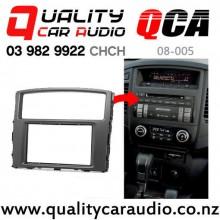 QCA 08-005 Double Din Stereo Facial Kits for Mitsubishi Pajero 4, Shogun, Montero 2007 up with Easy Finance