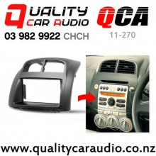 QCA 11-270 Double Din Stereo Facial Kit for Toyota Passo / Daihatsu Sirion 2004 to 2010 with Easy Finance