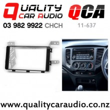 QCA 11-637 Double Din Stereo Facial Kit for Mitsubishi Triton 2016 onward with Easy Finance