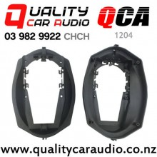 "QCA-1204 1991 - 1999 BMW 3 Series E36 6x9"" Rear Shelf Speaker Adaptors Spacers (Pair)"