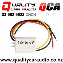 QCA-12to6 12V Step Down to 6V 3A Power Supply Waterproof Module with Easy Finance