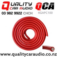 QCA-4GAPC100 4 Gauge Power Cable 100ft/Roll (Red) with Easy Finance