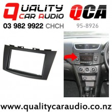 QCA 95-8926 Double Din Stereo Facial Kit for Suzuki Swift 2011 On with Easy Finance