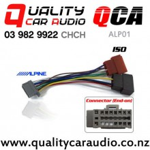 QCA-ALP01 Panasonic / Alpine To ISO Wiring Adapter (Grey Adapter) with Easy Finance