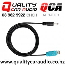 QCA-ALPAUX01 3.5mm Aux Cable for Alpine Stereo (1m) with Easy Finance