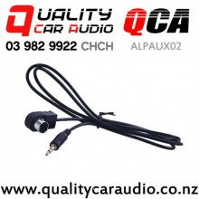 QCA-ALPAUX02 3.5mm Aux Cable for Alpine Stereo with Easy Finance