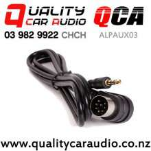 QCA-ALPAUX03 3.5mm Aux Cable for Alpine Stereo  with Easy Finance