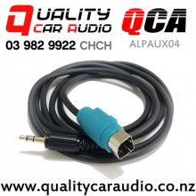 QCA-ALPAUX04 3.5mm AUX for Alpine Stereo (1.3m) with Easy Finance