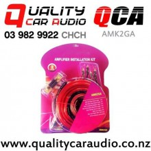 QCA-AMK2GA 2 Gauge 2500W Max Power Complete Set Car Amplifier Wiring Kits with Easy Finance