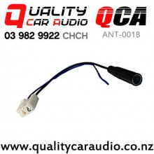QCA ANT-001B Toyota Factory Male To Standard Female Aerial Adaptor 2012 on with Easy Finance