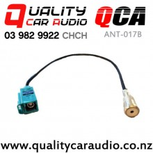 QCA ANT-017B Aerial Adapter for Euro Female Fakra to ISO Female with Easy Finance