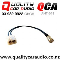 QCA ANT-018 Aerial Adapter for Mercedes Dual Female Fakra to ISO Female with Easy Finance