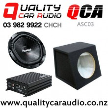 QCA-ASC04 Soundmagus DK600 Amplifier SONY XS-NW1200 QCA-SB012 Subwoofer Box with Easy Finance